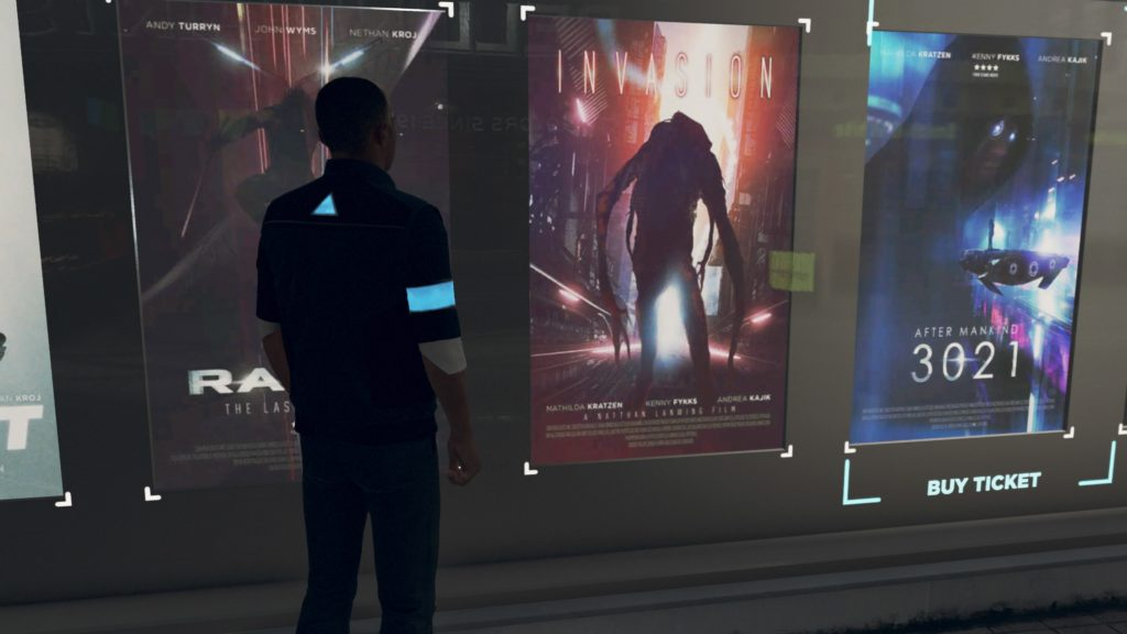 Movie poster from Detroit: Become Human