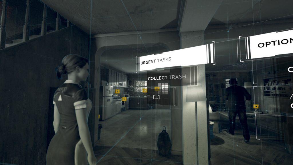 Objectives screen in Detroit