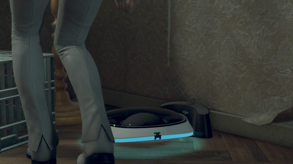 A robot vacuum in Detroit: Become Human