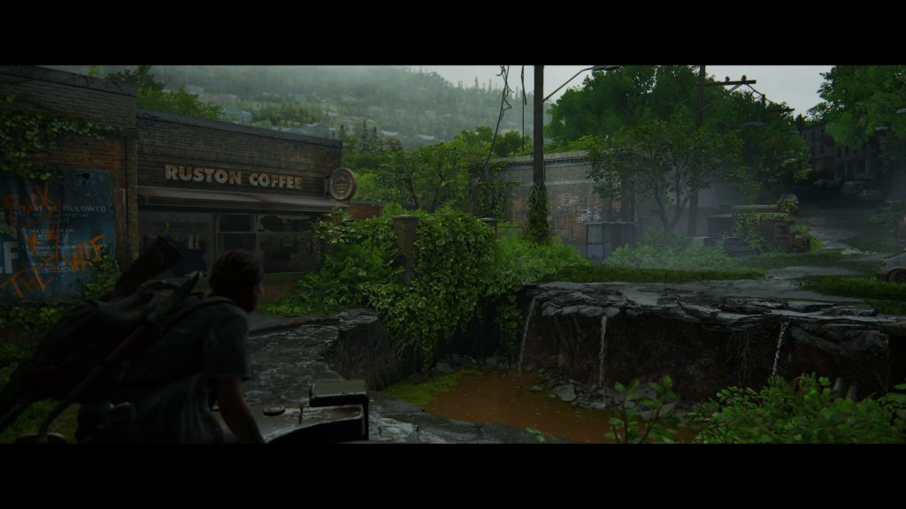 The rundown ruins of Seattle play host to most of The Last of Us Part II