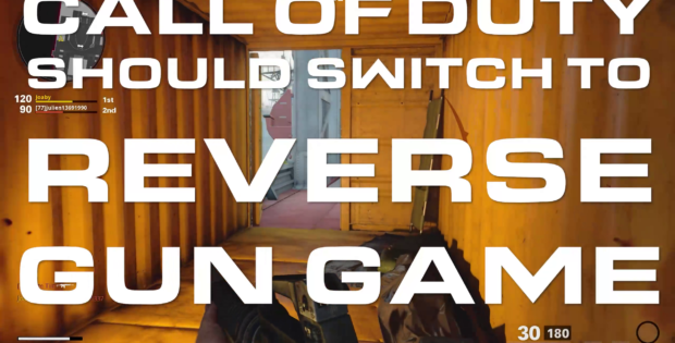 Call of Duty Should Switch to Reverse Gun Game Title Card